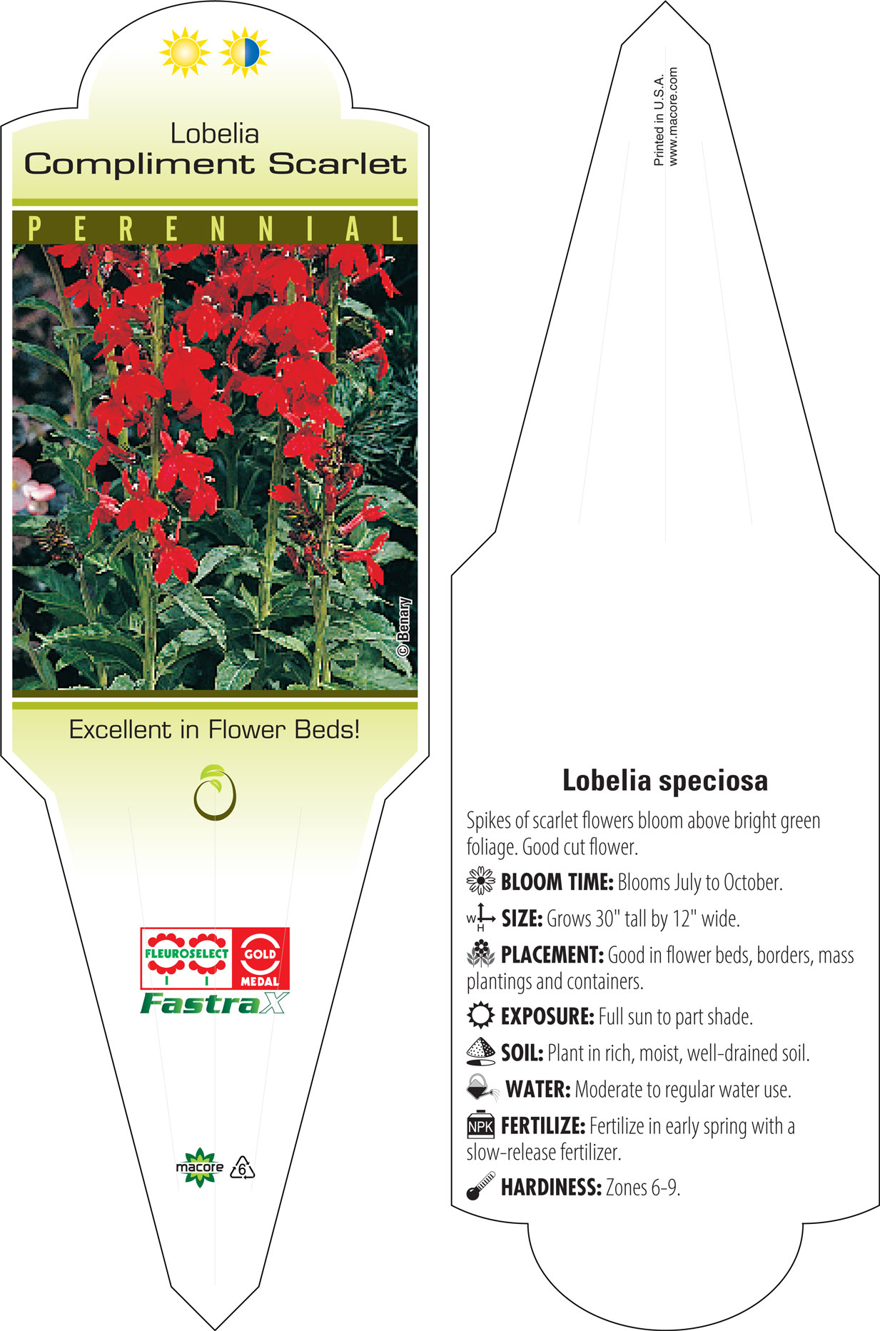 Macore Stakes Tags Labels For The Horticulture Industry Categories